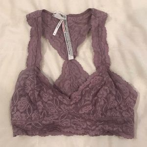 free people intimately lilac lace bralette